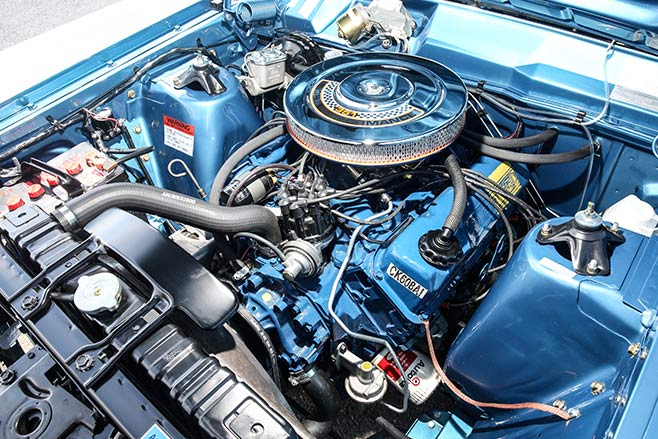 Ford -xw -gt -engine -658