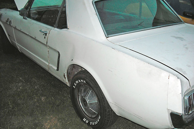 Ford -mustang -resto -before