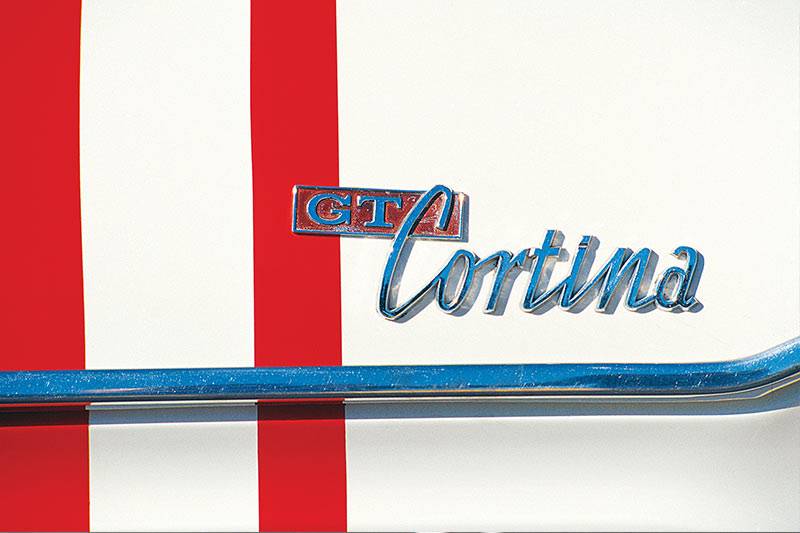 GT-Cortina -badge