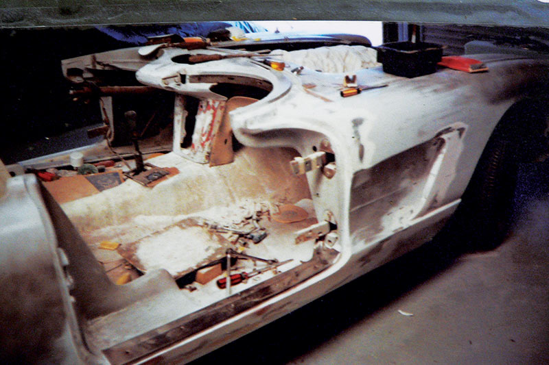 Chevrolet -Corvette -C1-chassis -before