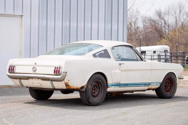 Mustang -shelby -rear