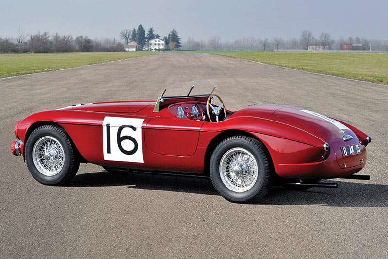 1951 Ferrari 340 America Barchetta By Touring -rear