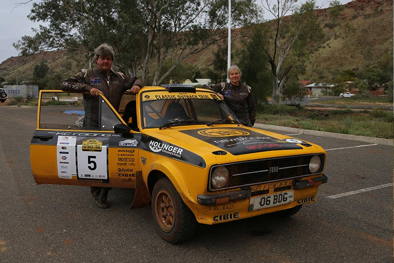 Classic -outback -trial -ford -escort