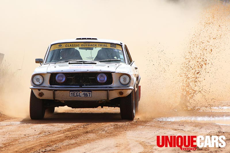 Classic -outback -trial -mustang