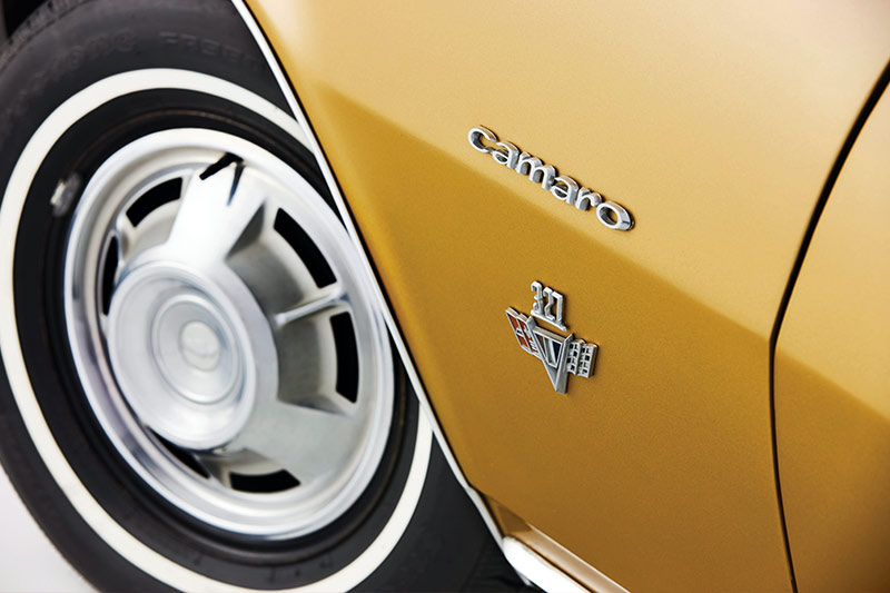Chevrolet -camaro -wheel