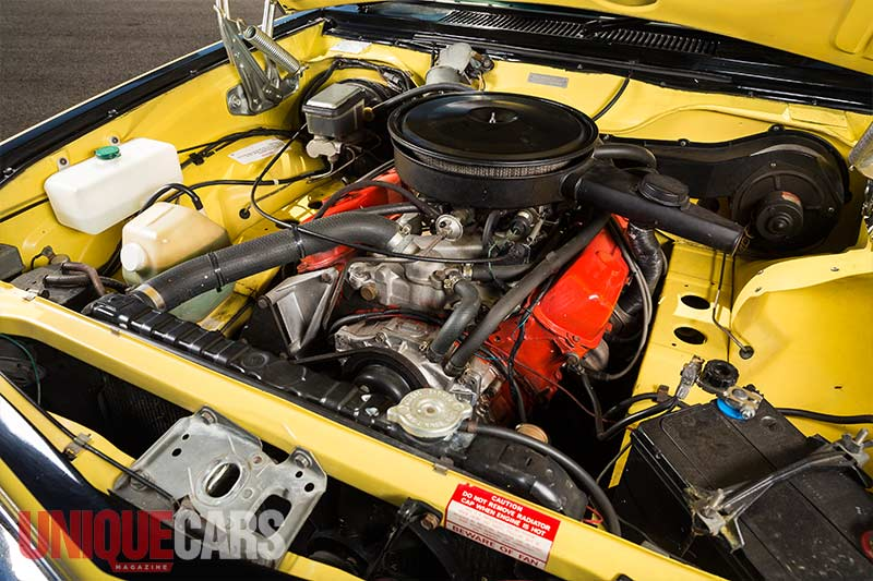 Holden -torana -a 9x -engine -bay