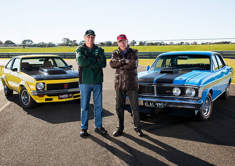 Ford -Falcon -GT-HO-Phase -III-duo