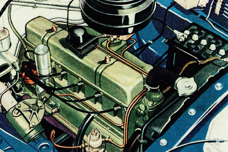 FE-Holden -engine