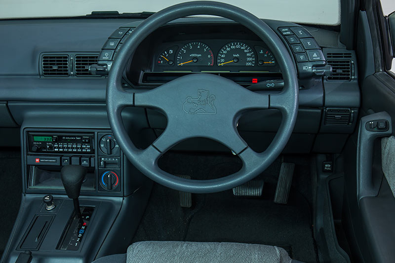 1989 holden vn calais our shed