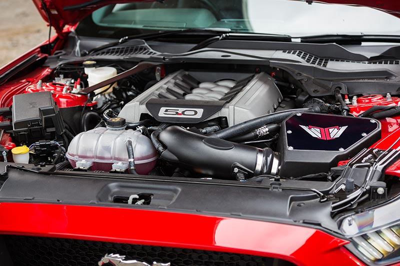 Tickford -mustang -engine -bay