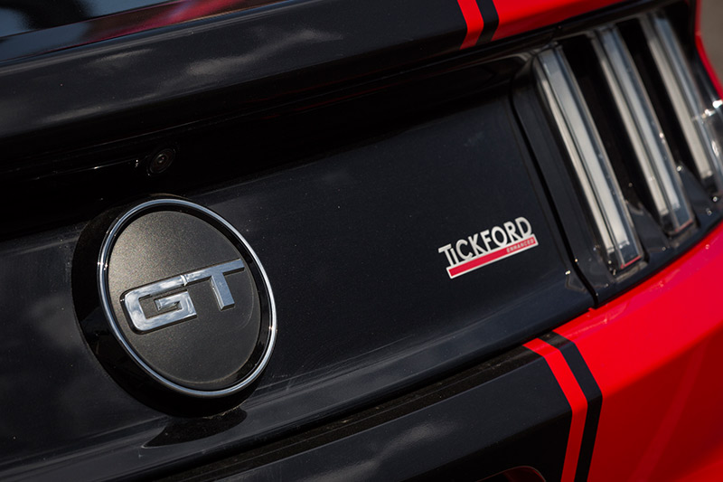 Tickford -mustang -gt -badge