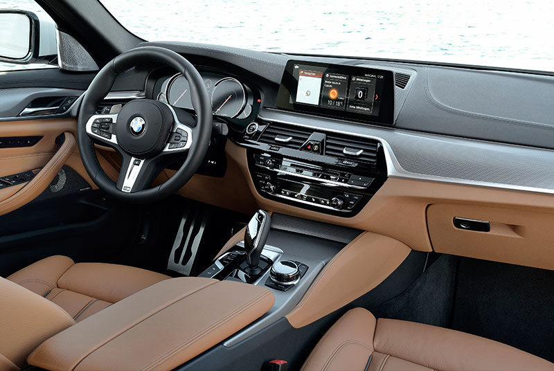 Bmw -5-series -interior