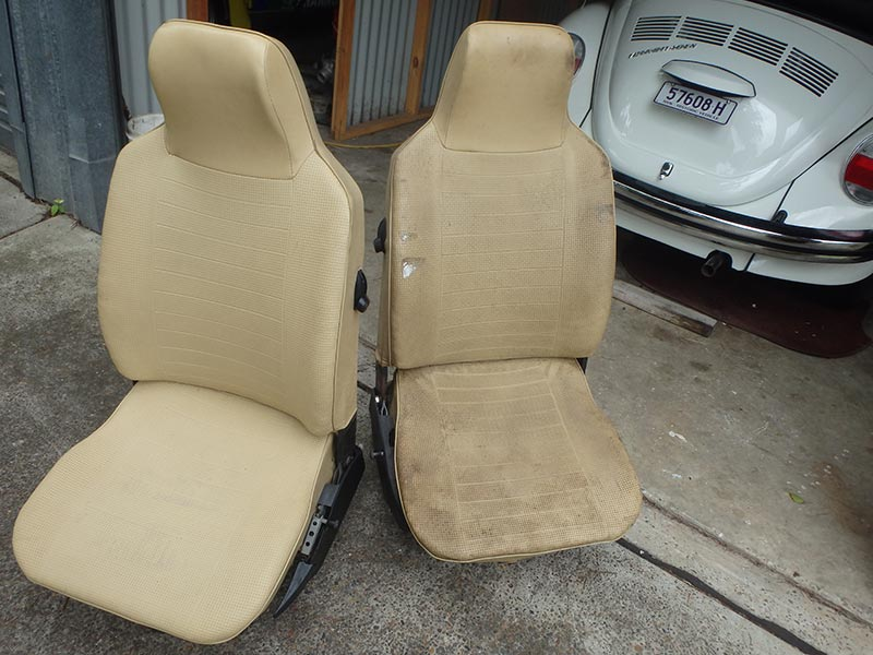 Vw -beetle -seats