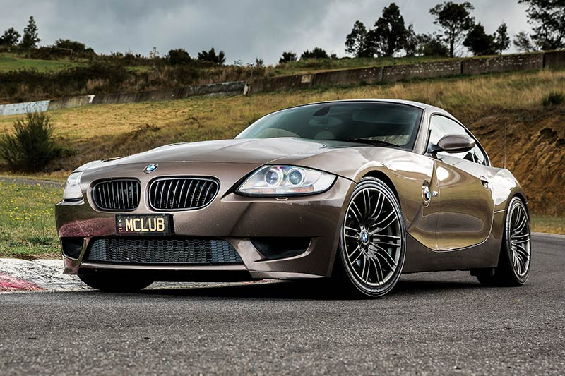 Bmw -z 4m -coupe -front -angle