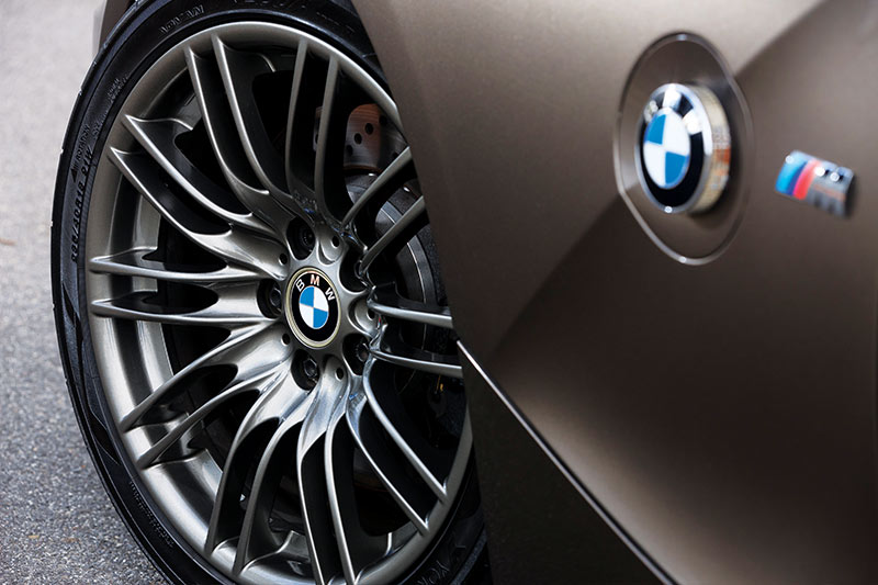 Bmw -z 4m -coupe -wheel