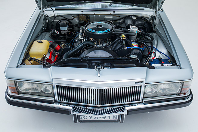 Holden -wb -statesman -engine -bay