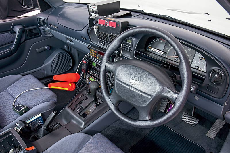 Holden -commodore -interior