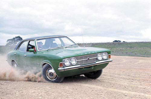 Ford -Cortina -green