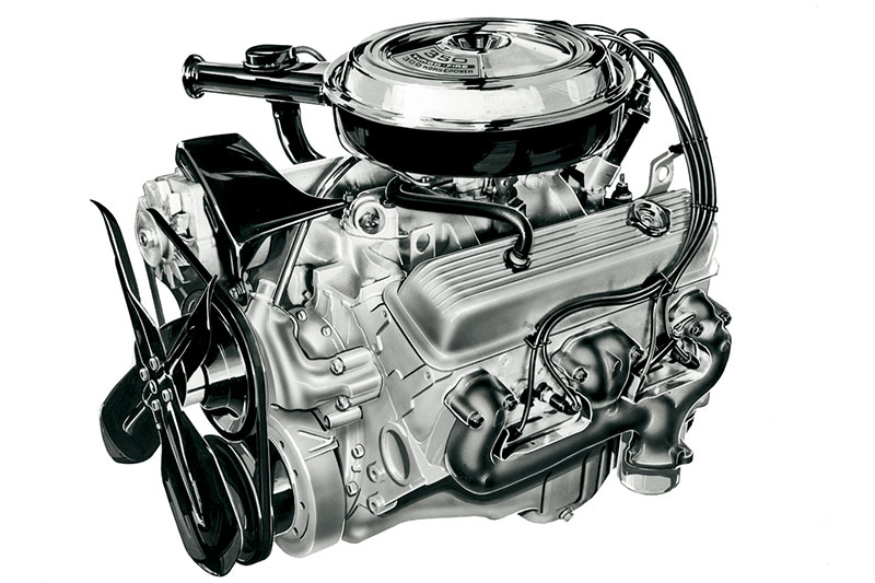 Chevy -small -block -engine