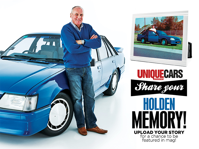 Share your Holden memory with Unique Cars