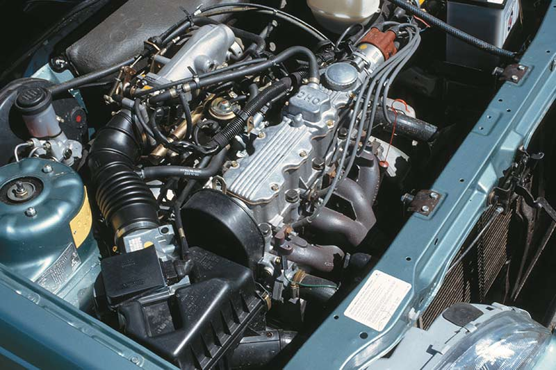 Holden -camira -engine