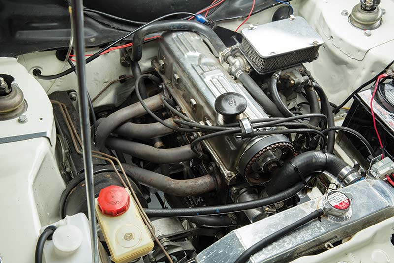 Ford -escort -engine -bay