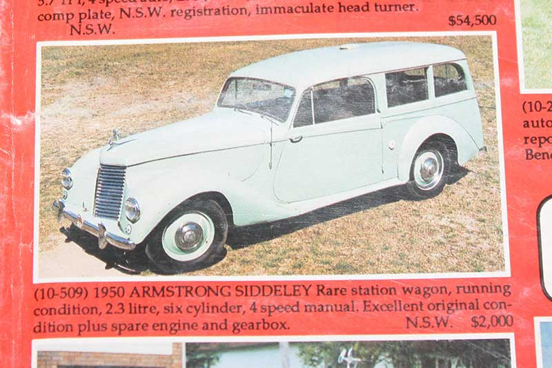 Armstrong -siddeley -wagon