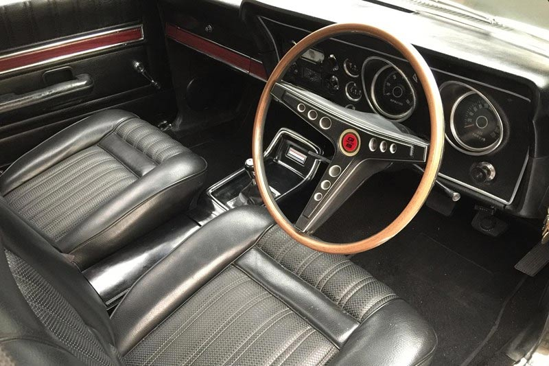 Ford -falcon -xw -gs -ute -interior
