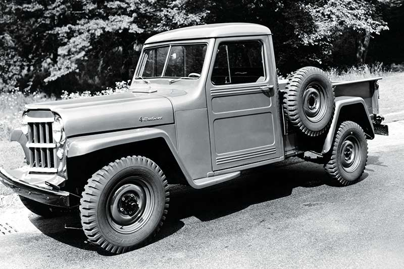 Willys -jeep -truck