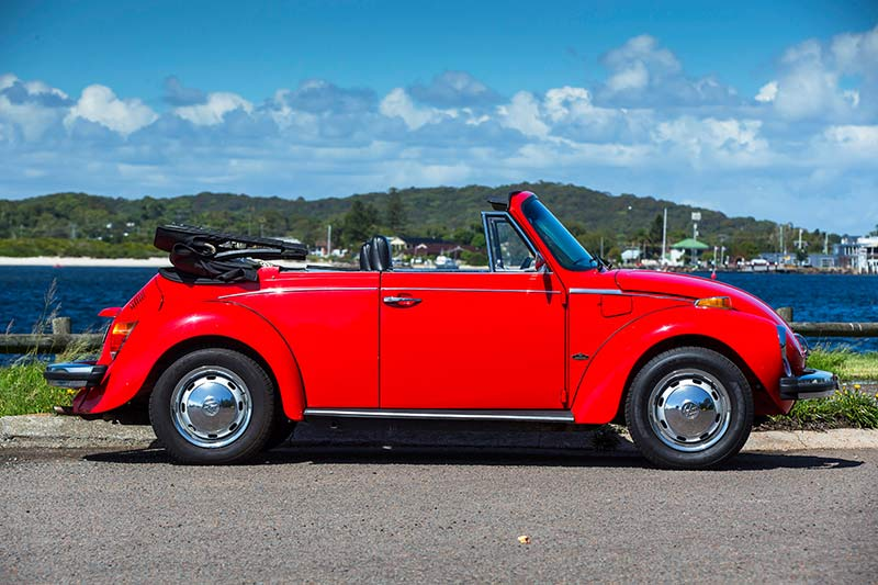 Vw -beetle -karmann -side