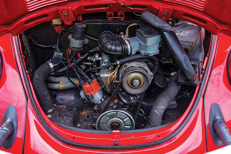 Vw -beetle -engine