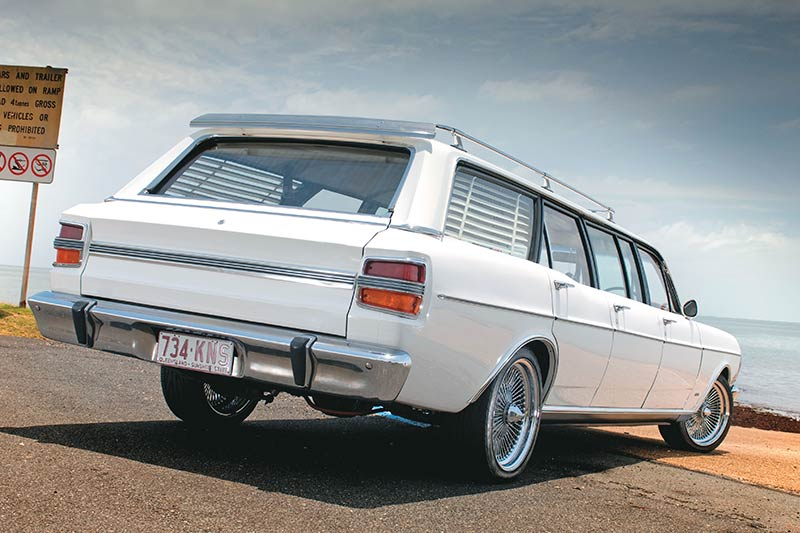 Ford -falcon -xy -stretch -rear
