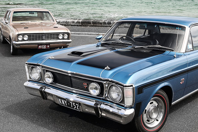 Holden Hg Premier Vs Ford Xw Falcon Gt Review